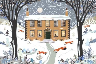 Winter Foxes, Haworth Parsonage