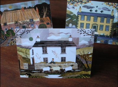Writers' Houses Greeting Cards