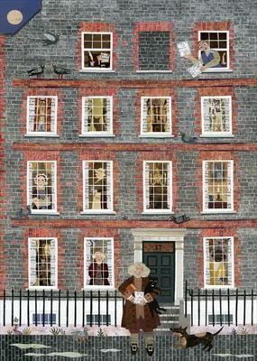 Dr Johnson, his House in Gough Square and Hodge, his Cat