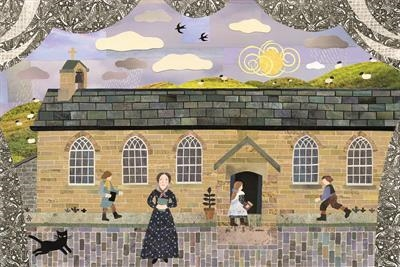 Miss Brontë Taught at the Village School Room