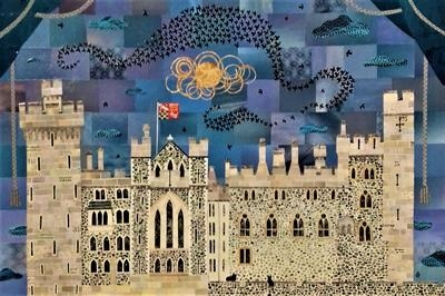 Murmuration, Arundel Castle