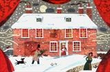 A Jane Austen Christmas by amanda white, Painting, Cut Paper Collage ©Amanda White