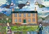 Haworth Visitations by amanda white, Painting, Cut Paper Collage