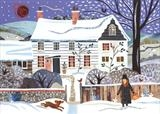 Monk's House Welcome Home by amanda white, Giclee Print