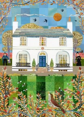 Autumn Days, Wentworth Place by amanda white, Giclee Print, Giclee Print