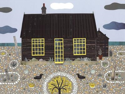 Prospect Cottage, Dungeness by amanda white, Giclee Print, Giclee Print