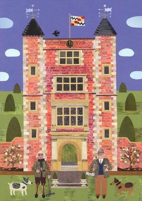 Vita and Harold in their Sissinghurst Garden by amanda white, Giclee Print, Giclee Print